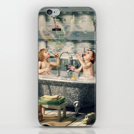 """H. Ch. Andersen tale motive  """"The Ugly Duckling"""" iPhone Skin"""