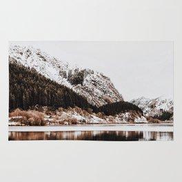 LAKE - OCEAN - BAY - SNOW - MOUNTAINS - HILLS - PHOTOGRAPHY Rug