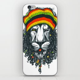 LION--MARLEY iPhone Skin