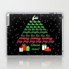 Fa la la Joy Christmas Laptop & iPad Skin