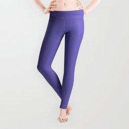 Blue-Violet (Crayola) -solid color Leggings