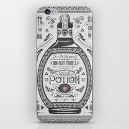 Legend of Zelda Red Chu Potion Advertisement iPhone Skin