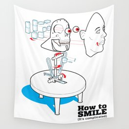 How to Smile Wall Tapestry