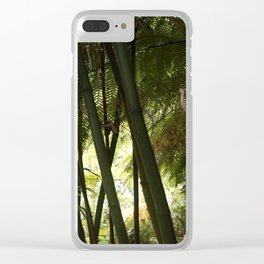 The Jungle of Heligan Clear iPhone Case