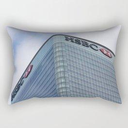 HSBC Tower London Rectangular Pillow