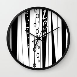 With love .2 Wall Clock