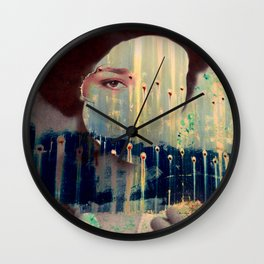 Countenance Sequence 2 Wall Clock