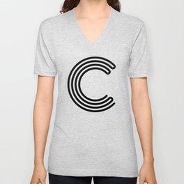 Letter C Unisex V-Neck