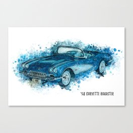 58 Roadster Canvas Print