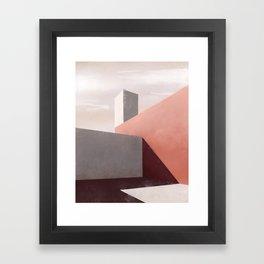 Dwelling of an Artist | Comforting Framed Art Print