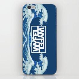 Wyfel Blue iPhone Skin