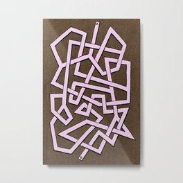 Maze 82 Metal Print