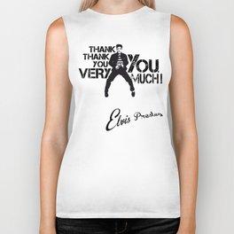 Thank you, Elvis Biker Tank