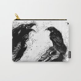 Halloween Raven Carry-All Pouch
