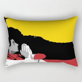Against All Odds - Ayrton Senna Rectangular Pillow