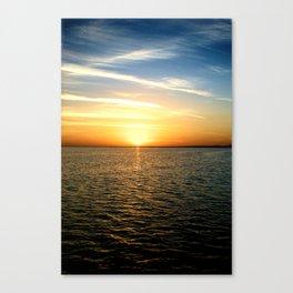 Sharm Sunrise 4 Canvas Print