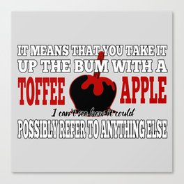 Toffee Apples Canvas Print