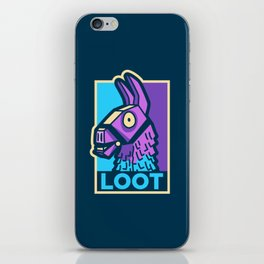Loot Llama Hope iPhone Skin