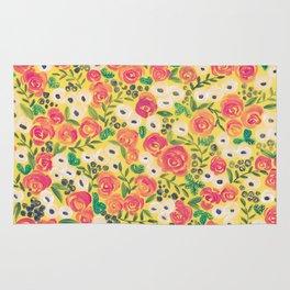 Minnie (Painted Flower Pattern) Rug