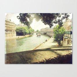 Seine, Paris Canvas Print