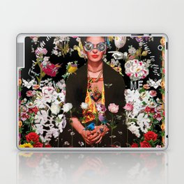 Frida OTT Kahlo You Are Too Much Laptop & iPad Skin