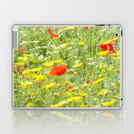 poppies and daisies Laptop & iPad Skin