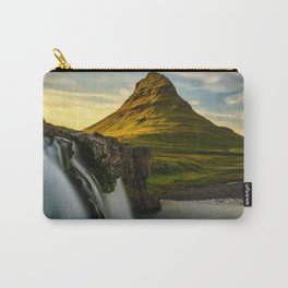 Kirkjufell Mountain at Sunset in Iceland Carry-All Pouch