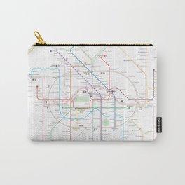 Germany Berlin Metro Bus U-bahn S-bahn map Carry-All Pouch