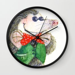 Mr Mole Wall Clock