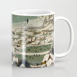 The Hunters in the Snow - Pieter Bruegel the Elder Coffee Mug