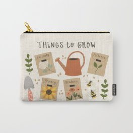 Things to Grow - Garden Seeds Carry-All Pouch