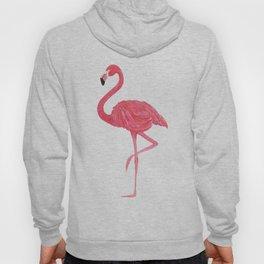 Flamingo fuchsia flap Hoody