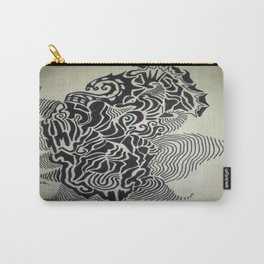 Ink Doodle Graphic Design Carry-All Pouch