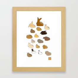 Bun Loafs Framed Art Print