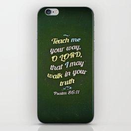 Teach Me iPhone Skin
