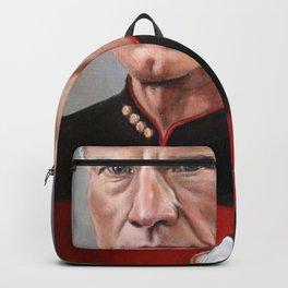Captain Picard - Portrait Painting Backpack