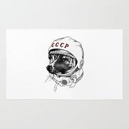 laika, space traveler Rug