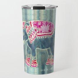 Elephant Indian Style Travel Mug