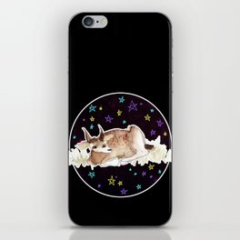 Derp Bambi in Space iPhone Skin