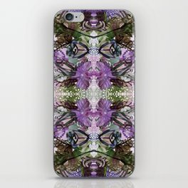 Psychedelic Positive Notes Lavender Zoom iPhone Skin