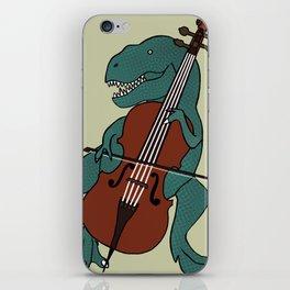 T-Rex Double Bass iPhone Skin