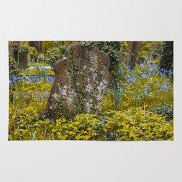 Tombstone in Highgate Rug