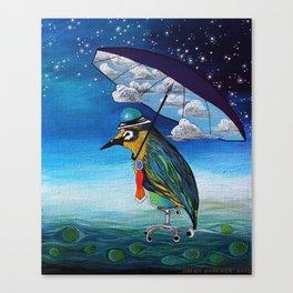 God's Umbrella Canvas Print