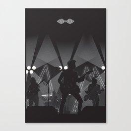 AM ARCTIC TOUR POSTER MONKEYS Canvas Print