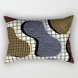 Colorful Notebook III Rectangular Pillow