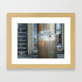 Pillar and Post Framed Art Print