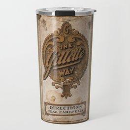 old razor ad Travel Mug