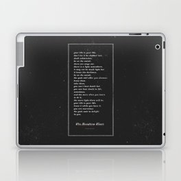 The Laughing Heart II Laptop & iPad Skin