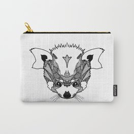 Fierce Red Panda Carry-All Pouch