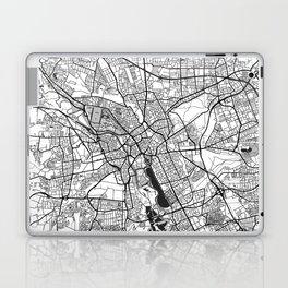 Hanover Map Gray Laptop & iPad Skin